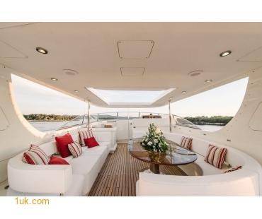 Main Deck on Superyacht