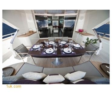 Main Salon on MY Toby Yacht
