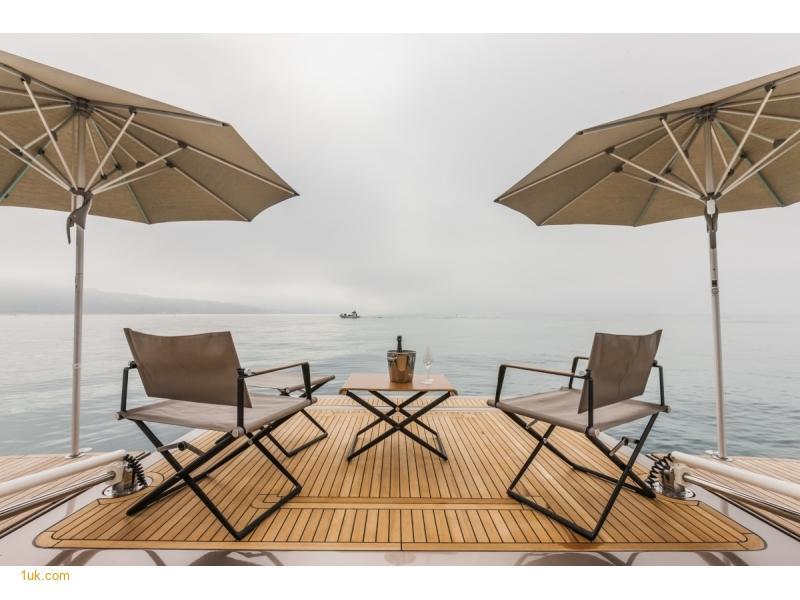 Yvonne - Motor Yacht Charter sun deck