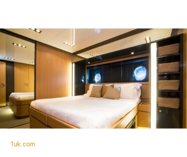 Double bedroom cabins with modern interior