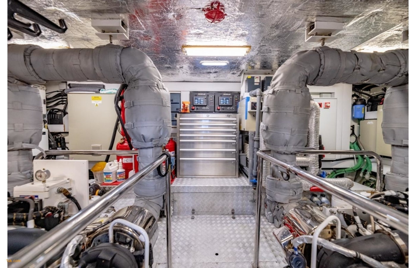 Another view of the engine room