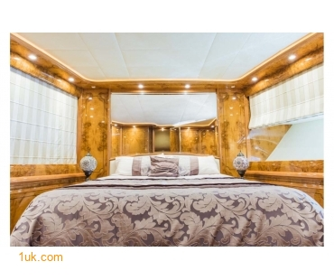 Large bedroom area in the staterooms