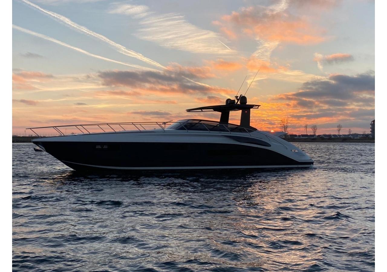 65' Sports Yacht at sea
