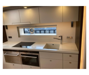 Galley with Simens appliances