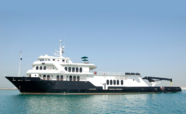Expedition Yacht by Shadow Marine.