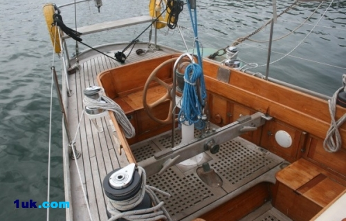 43′ Camper and Nicholson sloop Luxury yachts falmouth