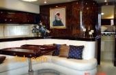Luxury wooden looking dining room