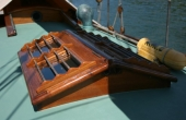 Claud Worth Gaff Cutter Woodenship