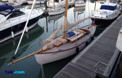 Norman Dallimore Bermudan Cutter Woodenship