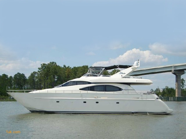 70 Azimut SEA JET Flybridge 2000 Yacht