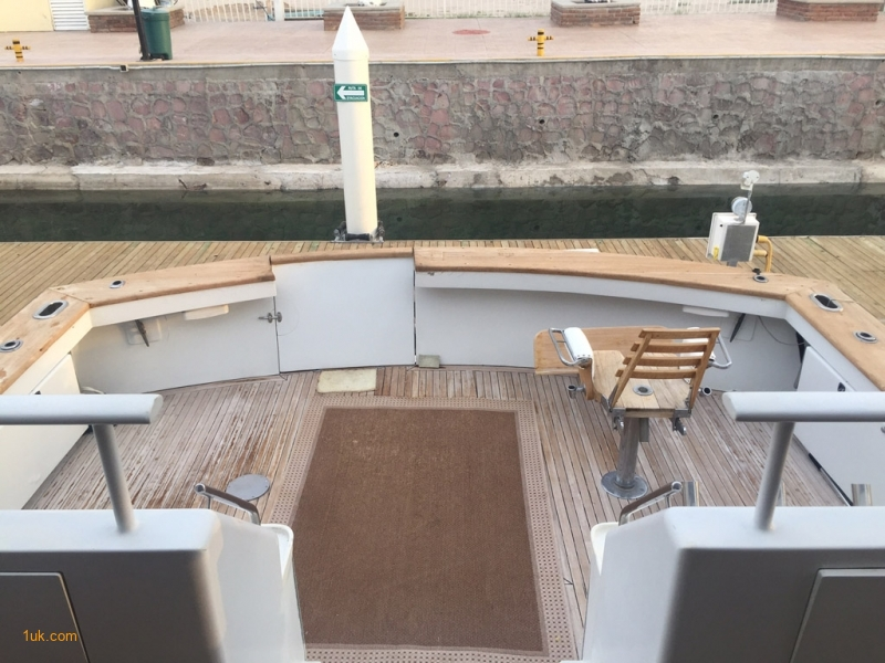 Deck on Boat