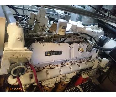 Engine Room on Boat for sale