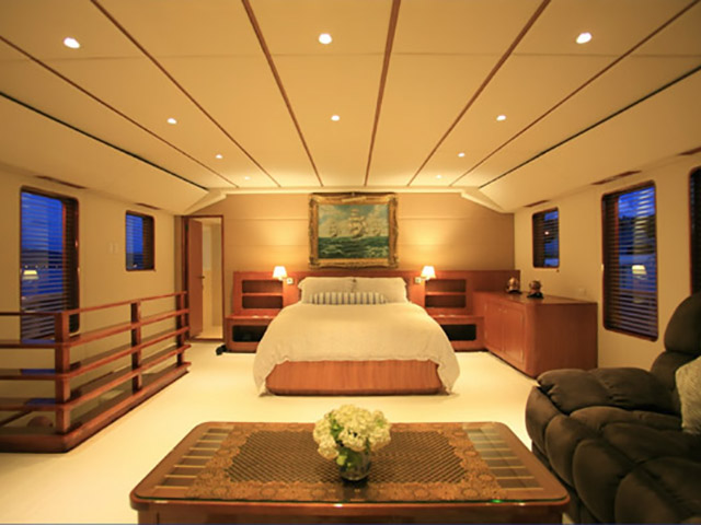 105 Custom Expedition Long Range Yacht