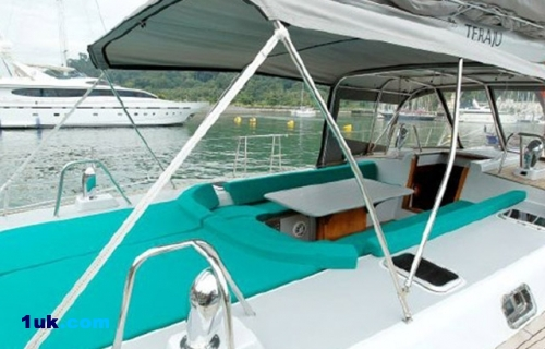 80' Casinelli Spa Custom Cruising Sailboat 1995