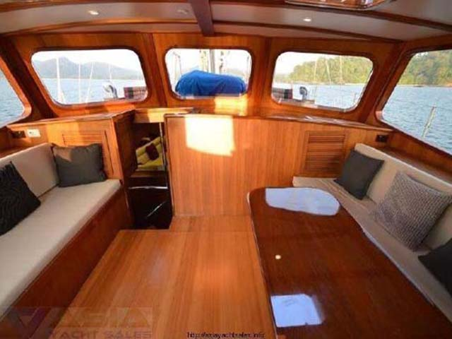 77' Custom Ketch Cruising Sailboat 1978