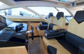 The Bridge onboard yacht