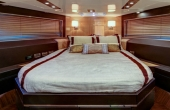 Master Bedroom on luxury yachts