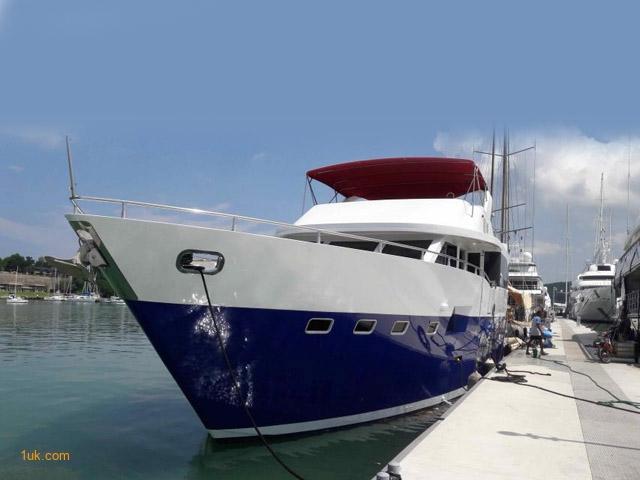 75' Custom Cruiser Motor Yacht 2008