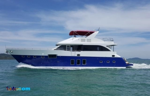 75' Custom Cruiser Motor Yacht 2008 Yacht for Sale