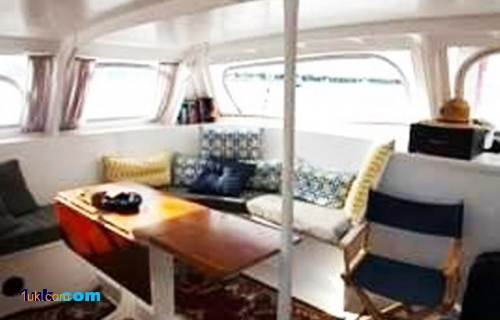 75' Custom Ketch Catamaran 1977 sailing yacht
