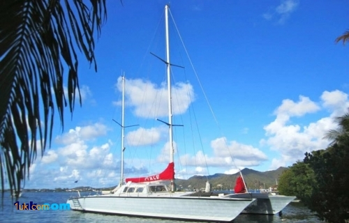 75' Custom Ketch Catamaran 1977
