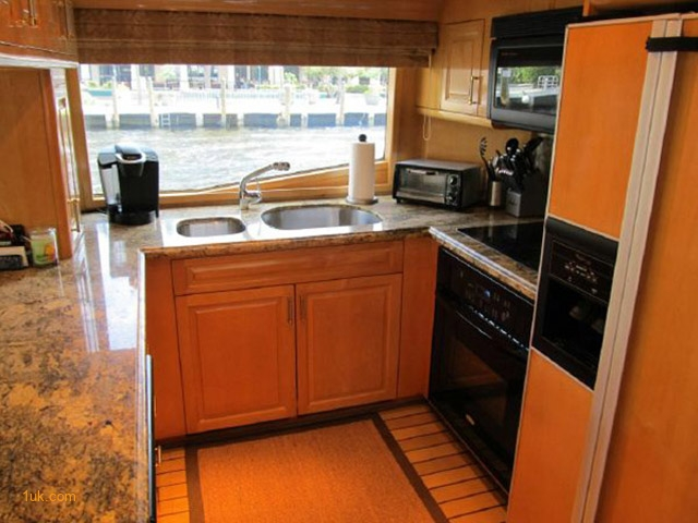 Galley in boat