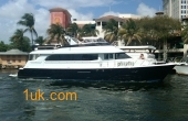 75' Hatteras 75 CPMY Flybridge 2000 Yacht for Sale