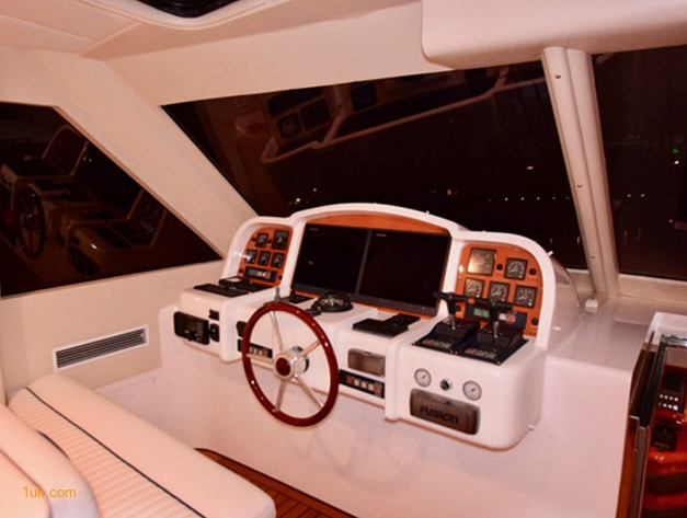 Motor Yacht Cockpit