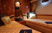 Bedroom on Motor Yacht at 1 UK