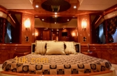 Master Bedroom onboard luxury Motor Yacht