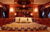 Master Bedroom onboard luxury Motor Yacht