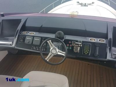 Cock Pit Princess Motor Yacht