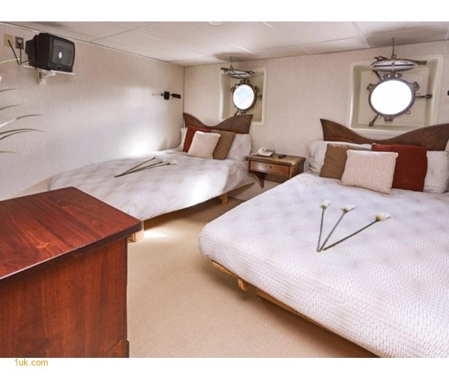 Superyacht bedroom