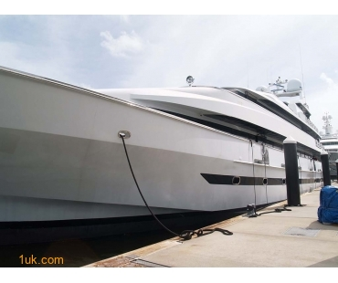 luxury yacht for refit