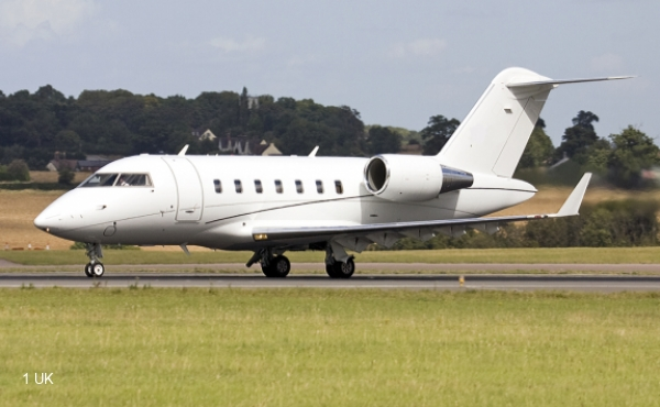 Exterior Challenger 605 for sale
