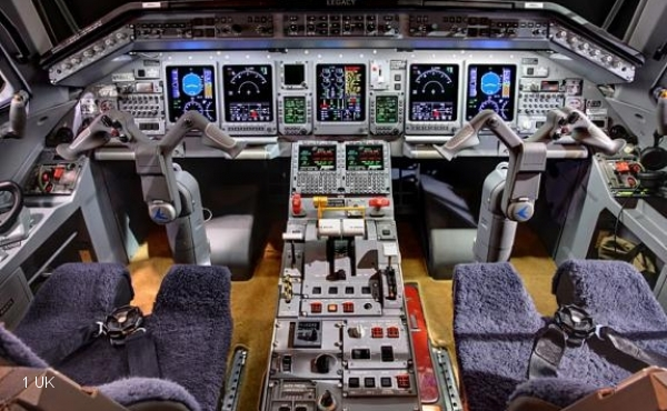Legacy 600 for lease cockpit